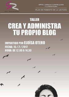 Taller de blogs en el IES Giner de los Ríos (León). 15-II-2017.