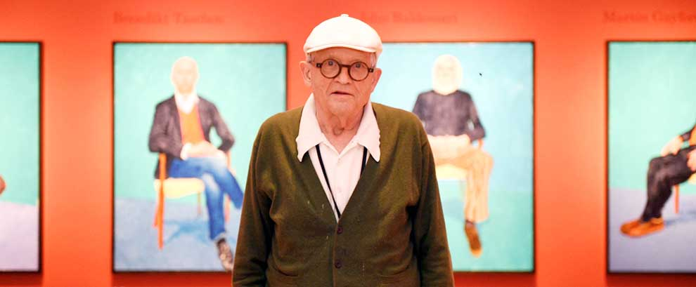David Hockney y 82 amigos en Bilbao