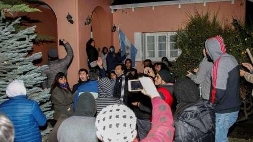 agresión a AK Y CFK