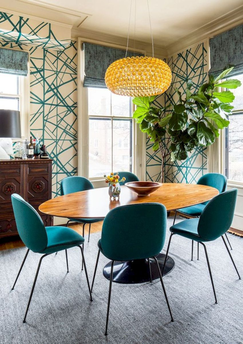 50+ Wall Décor Ideas for 2018 Dining Room Trend (28)