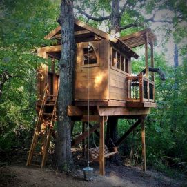 DIY Treehouse For 2018 Summer Times (22)