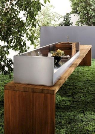 Inspiring Summer Outdoor Kitchen Ideas (15)