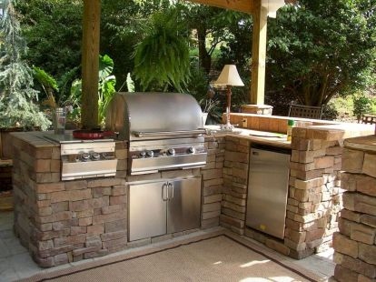 Inspiring Summer Outdoor Kitchen Ideas (40)