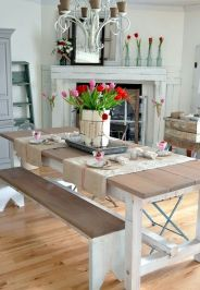 Farmhouse Dining Table Inspirations Part 40