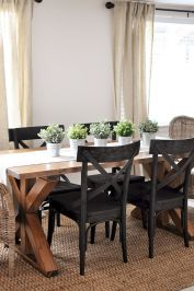 Farmhouse Dining Table Inspirations Part 41