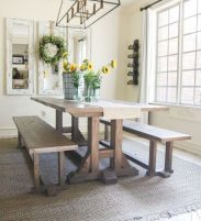 Farmhouse Dining Table Inspirations Part 49