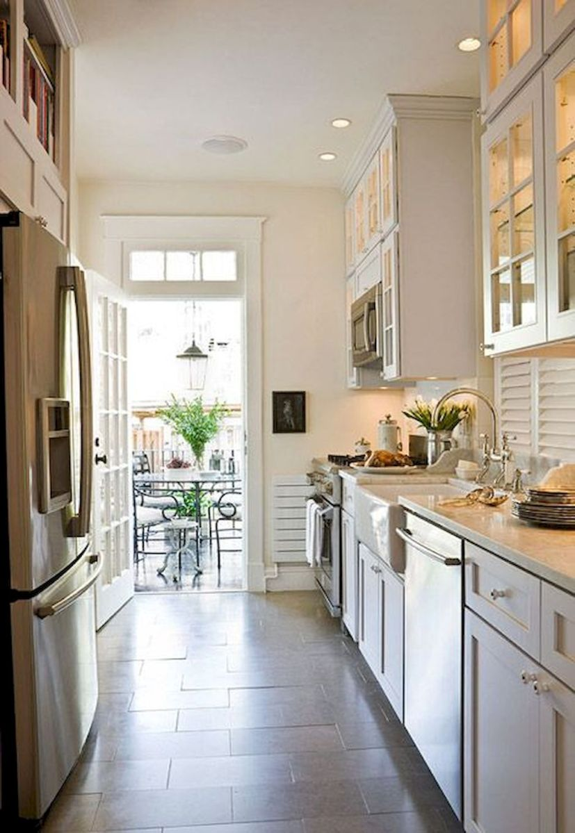 Galley Kitchens Inspirations Part 26