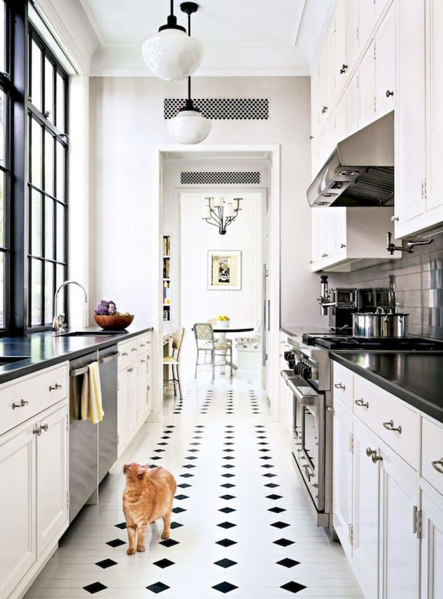 Galley Kitchens Inspirations Part 52