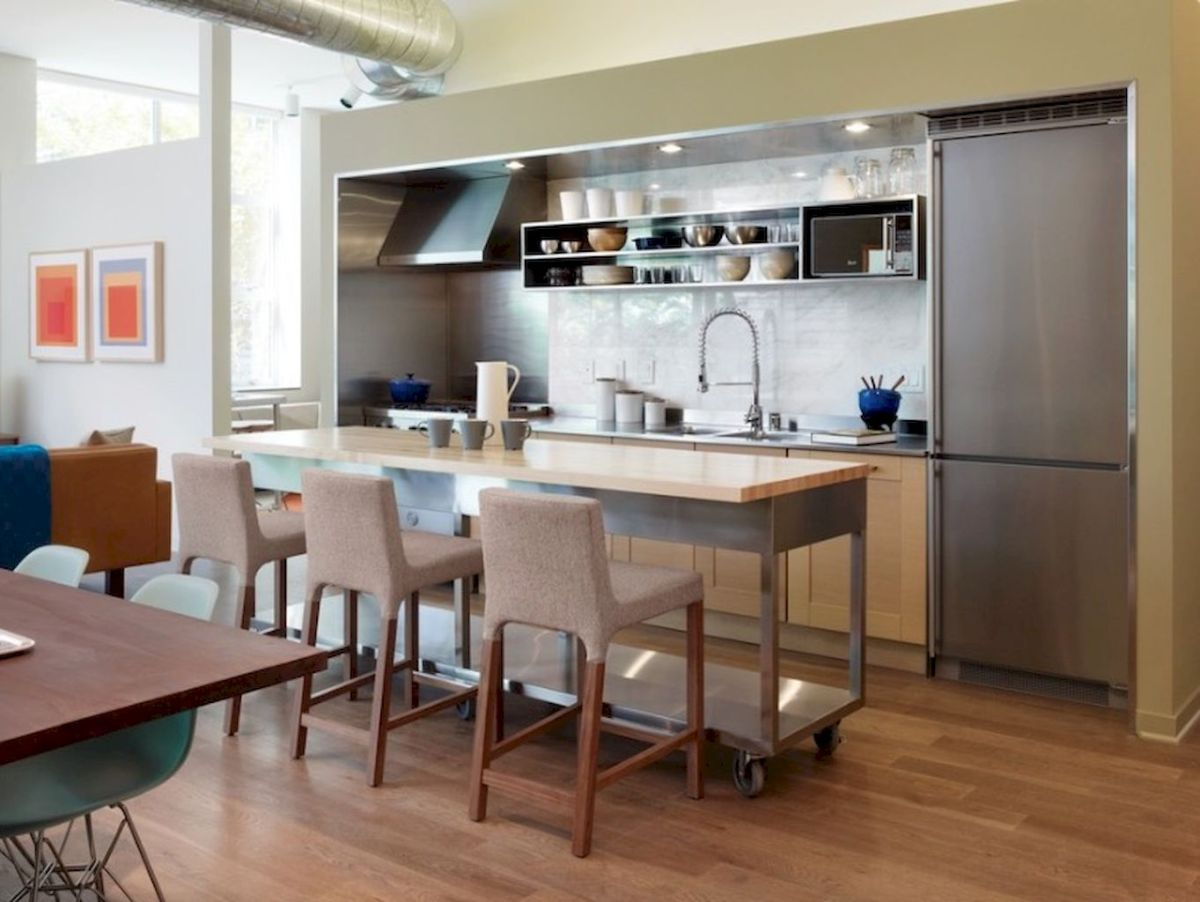 Kitchen Decor Ideas with Small Kitchen Islands Part 13