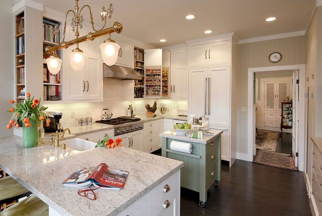 Kitchen Decor Ideas with Small Kitchen Islands Part 22