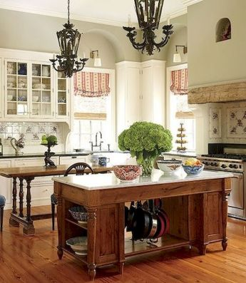 Kitchen Decor Ideas with Small Kitchen Islands Part 29
