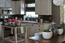 Kitchen Decor Ideas with Small Kitchen Islands Part 31