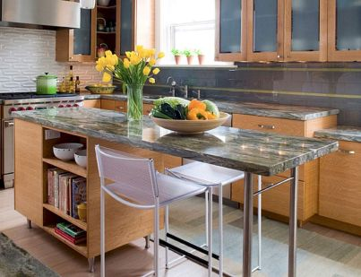 Kitchen Decor Ideas with Small Kitchen Islands Part 8