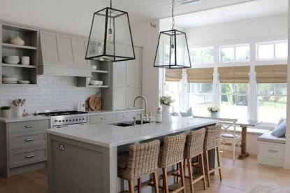 Best Modern Farmhouse Kitchen Coloring Ideas with Creative Farmhouse Kitchen Backsplashes and Colorful Kitchen Decorations Part 43