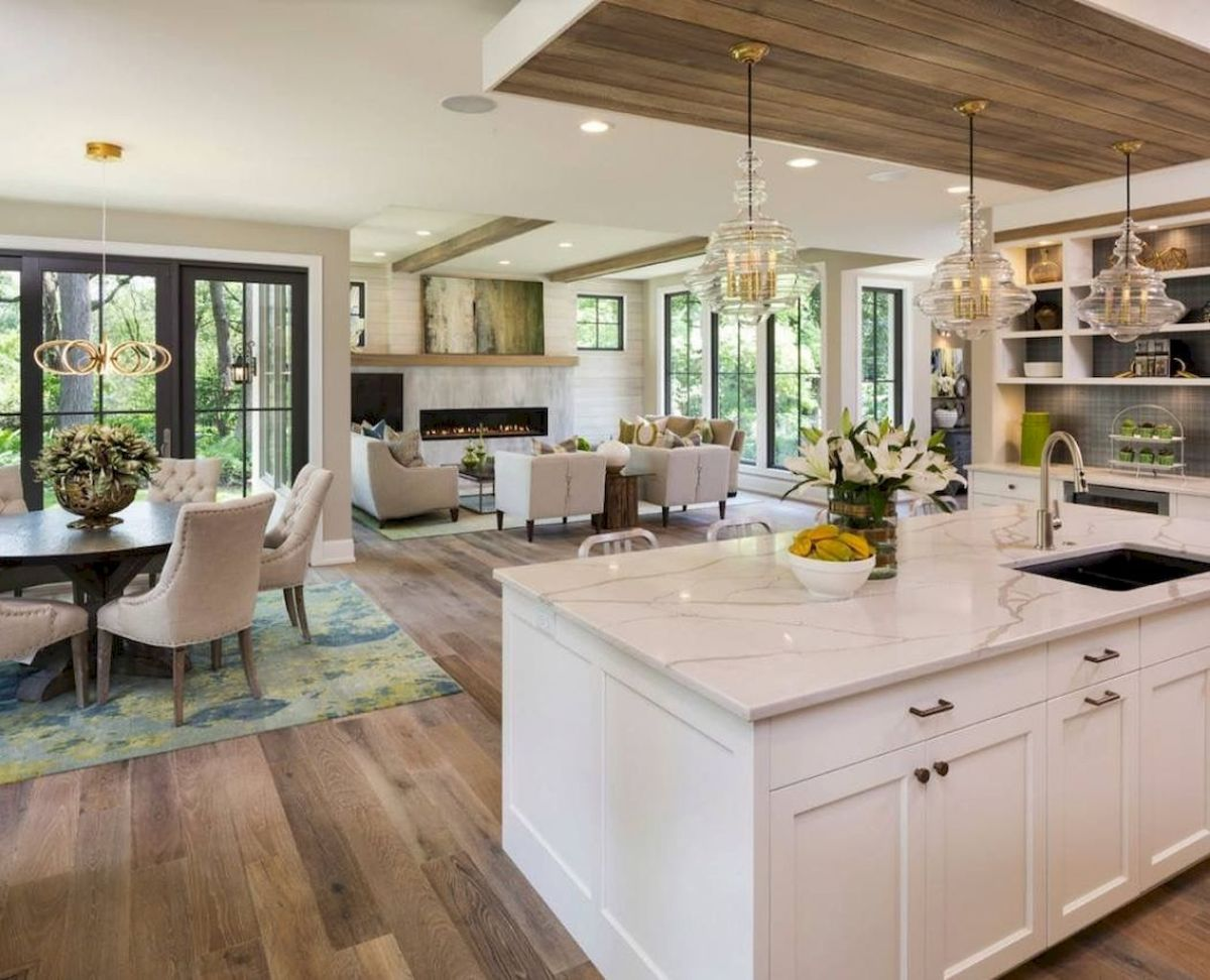 Best Open Kitchen Living And Dining Concepts Perfect For Modern And Traditional Interior Styles (19)