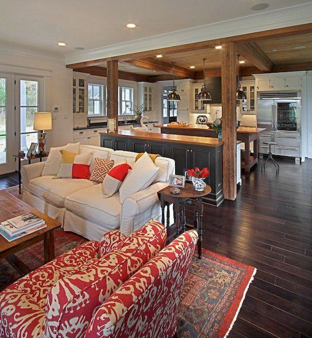 Best Open Kitchen Living And Dining Concepts Perfect For Modern And Traditional Interior Styles (60)