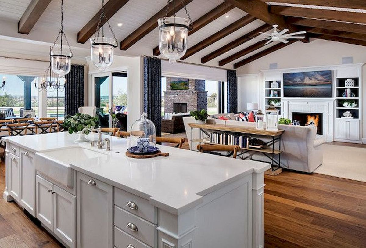Best Open Kitchen Living And Dining Concepts Perfect For Modern And Traditional Interior Styles (64)