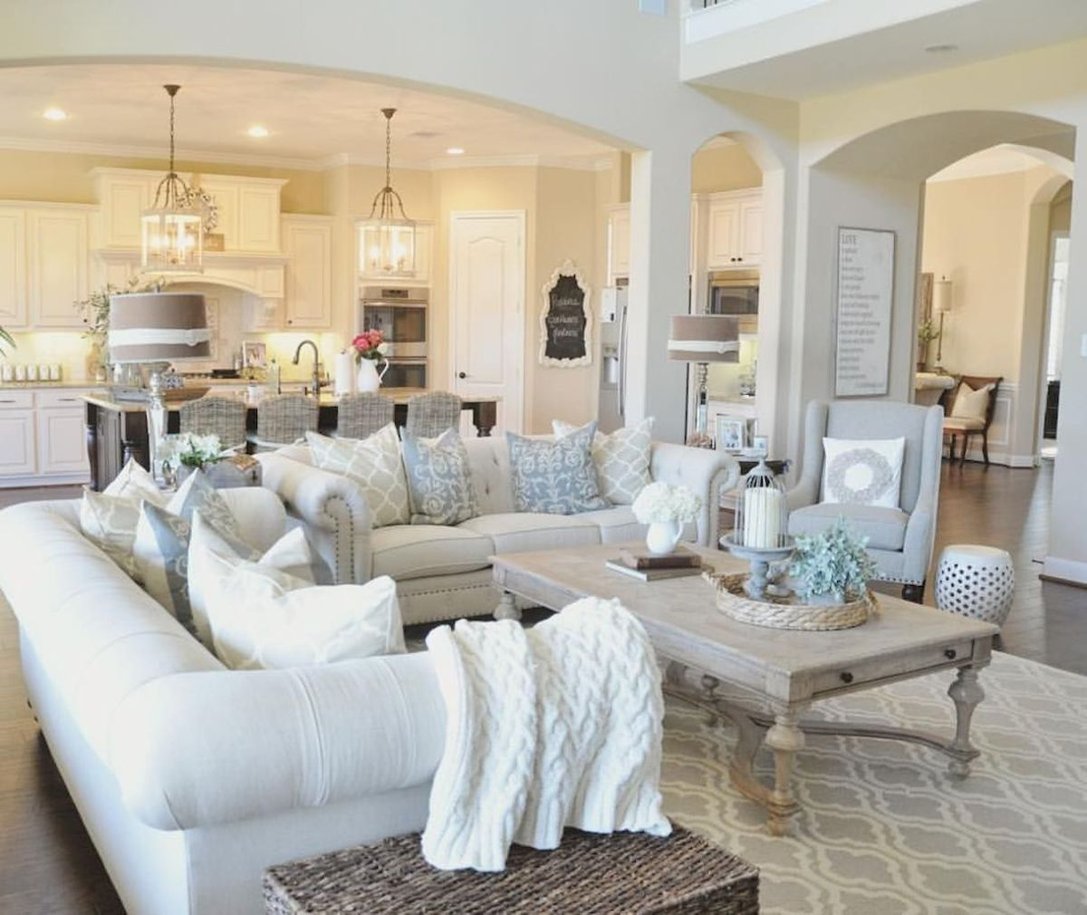 Best Open Kitchen Living And Dining Concepts Perfect For Modern And Traditional Interior Styles (76)