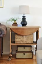 Creative Farmhouse Style Side Table Design Made From Scrap And Reclaimed Materials (1)