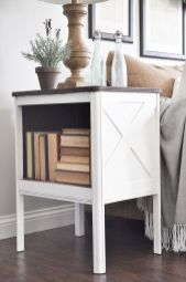 Creative Farmhouse Style Side Table Design Made From Scrap And Reclaimed Materials (19)
