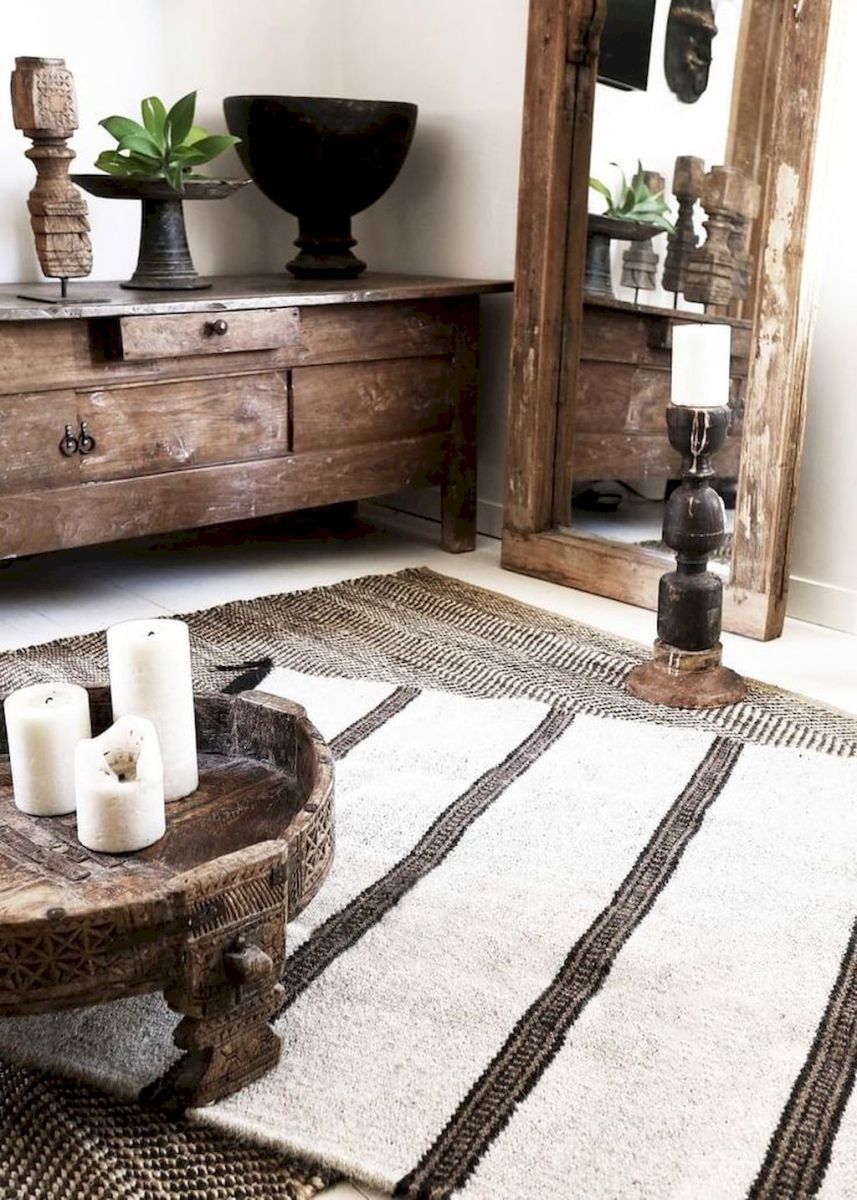 Creative Farmhouse Style Side Table Design Made From Scrap And Reclaimed Materials (41)