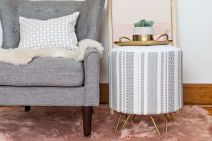 Creative Farmhouse Style Side Table Design Made From Scrap And Reclaimed Materials (44)