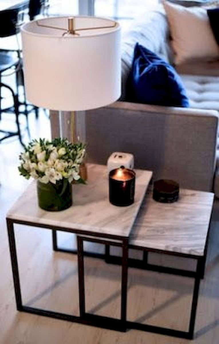 Creative Farmhouse Style Side Table Design Made From Scrap And Reclaimed Materials (66)