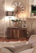 Creative Farmhouse Style Side Table Design Made From Scrap And Reclaimed Materials (68)