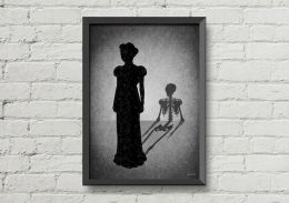 Creepy Halloween Wall Arts and Printables Part 24