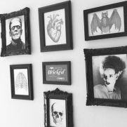 Creepy Halloween Wall Arts and Printables Part 29
