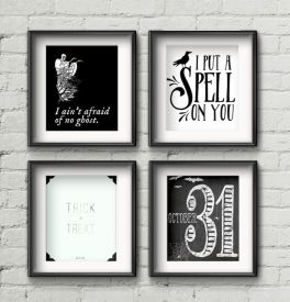 Creepy Halloween Wall Arts and Printables Part 43