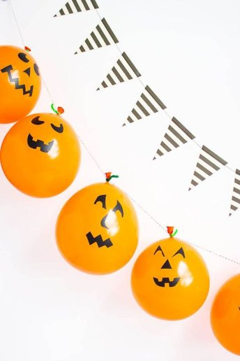 Cute Halloween party decorations for children Part 20
