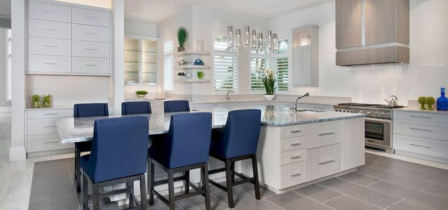 Dual purpose kitchen island that will really safe your space and extra budget as well (13)