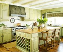 Dual purpose kitchen island that will really safe your space and extra budget as well (16)