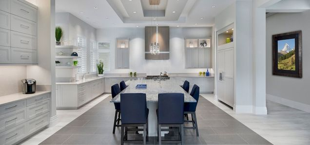 Dual purpose kitchen island that will really safe your space and extra budget as well (22)