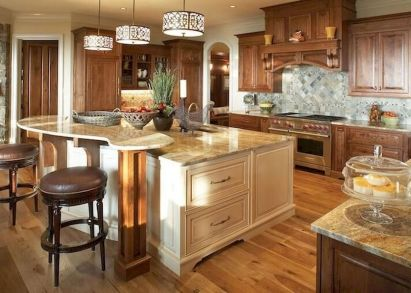 Dual purpose kitchen island that will really safe your space and extra budget as well (23)