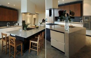 Dual purpose kitchen island that will really safe your space and extra budget as well (26)