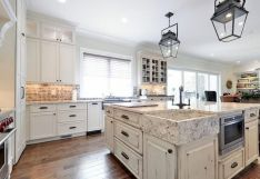 Dual purpose kitchen island that will really safe your space and extra budget as well (37)