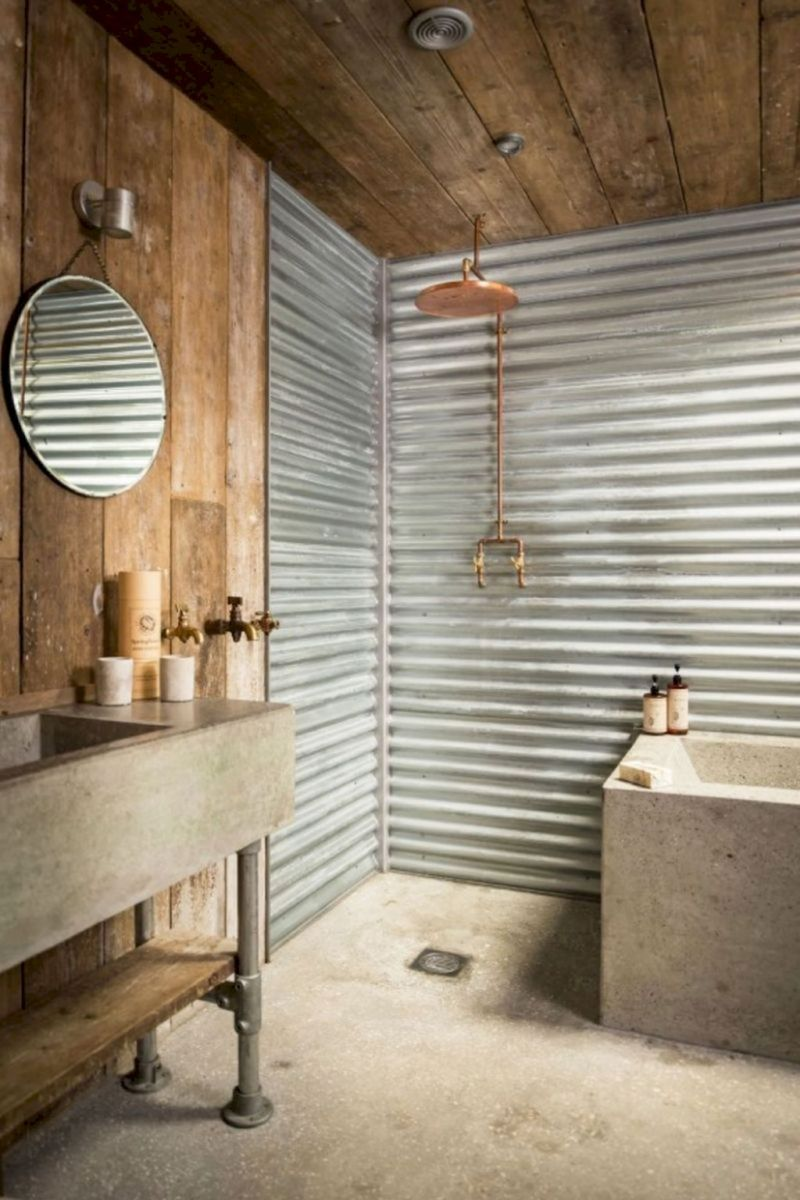 Easy Bathroom Makeover Inspirations with Cheap Decoration and Accessories Part 29