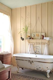 Easy Bathroom Makeover Inspirations with Cheap Decoration and Accessories Part 37
