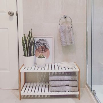 Easy Bathroom Makeover Inspirations with Cheap Decoration and Accessories Part 4