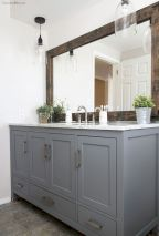 Easy Bathroom Makeover Inspirations with Cheap Decoration and Accessories Part 66