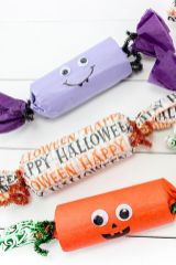 Easy Halloween Crafts and DIY halloween decoration for kids and toddler Part 29