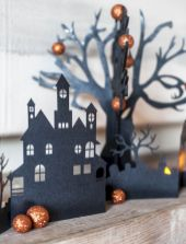 Easy Halloween Crafts and DIY halloween decoration for kids and toddler Part 53
