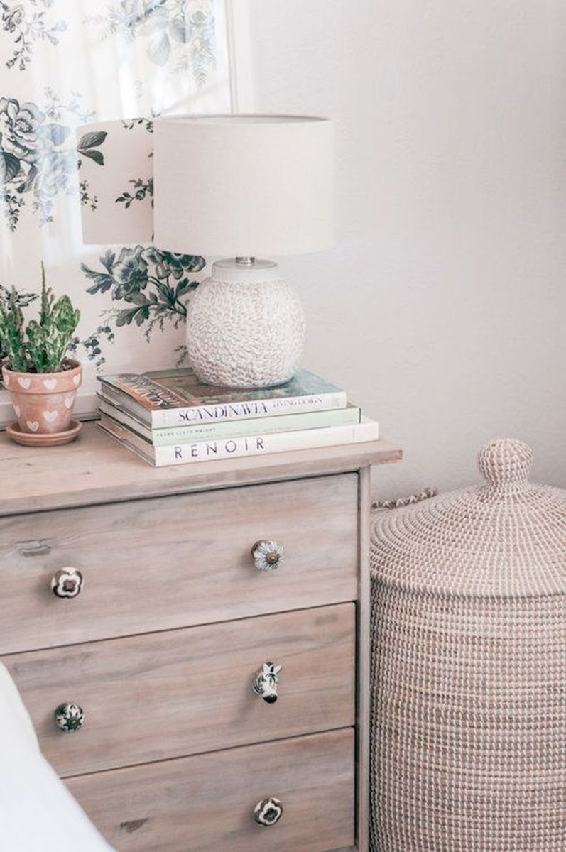 Easy tricks for Nightstand makeover ideas that will makeup the bedroom design Part 23
