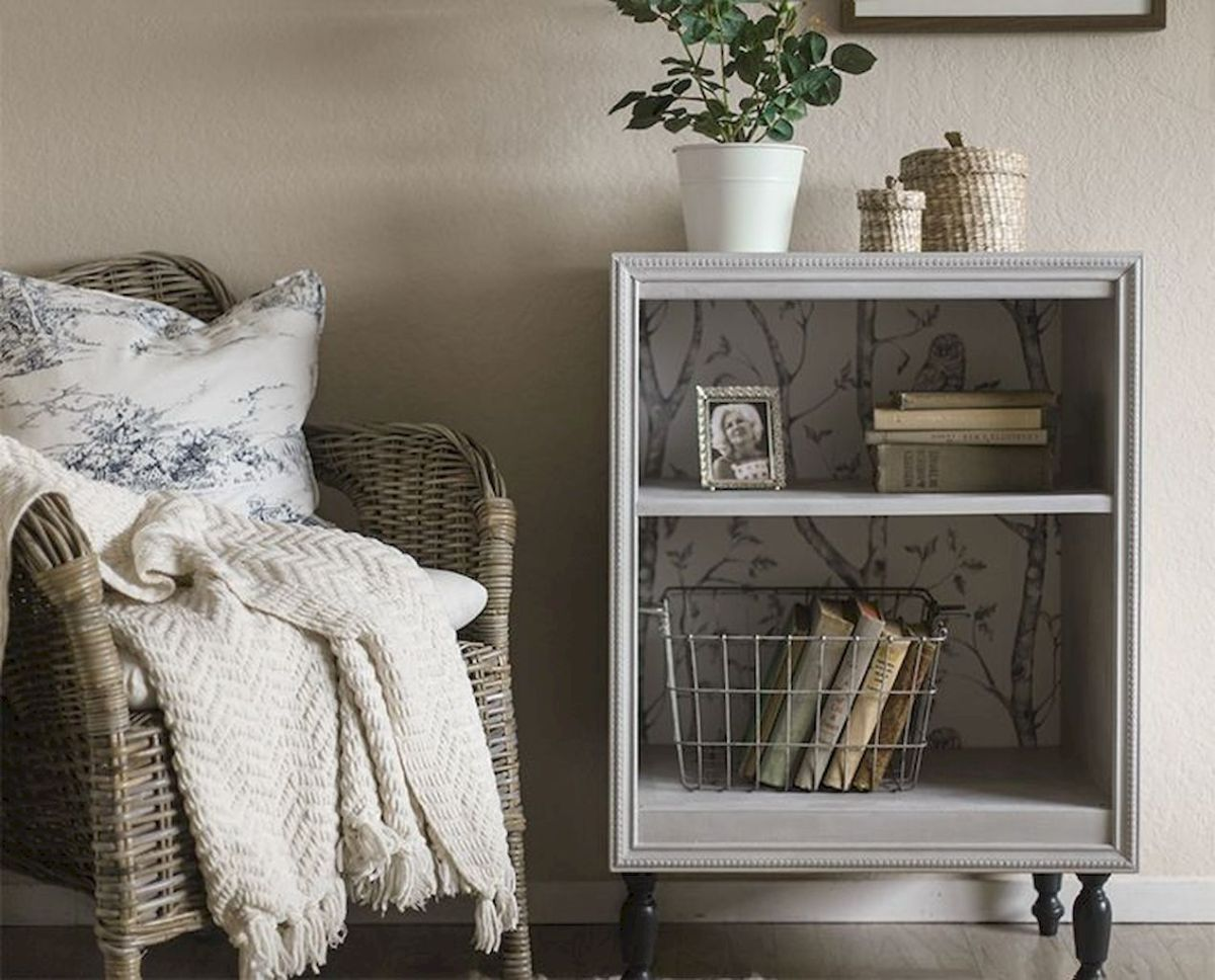 Easy tricks for Nightstand makeover ideas that will makeup the bedroom design Part 26