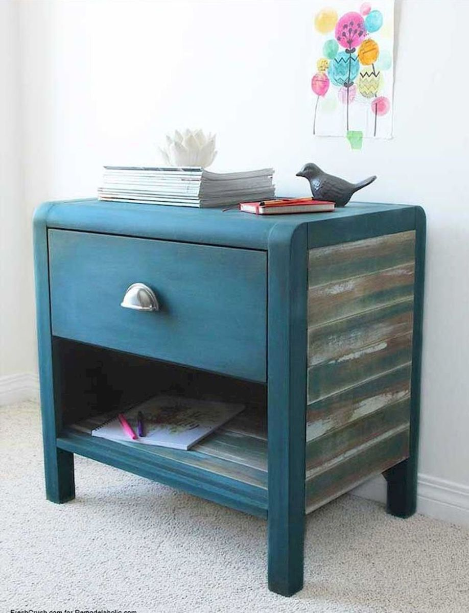 Easy tricks for Nightstand makeover ideas that will makeup the bedroom design Part 54