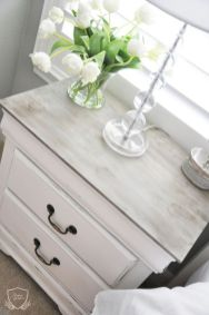 Easy tricks for Nightstand makeover ideas that will makeup the bedroom design Part 60