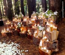 Fall wedding decoration idea with inspiring autumn decoration and fall flowers design Part 38