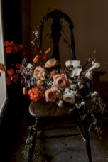 Fall wedding decoration idea with inspiring autumn decoration and fall flowers design Part 42